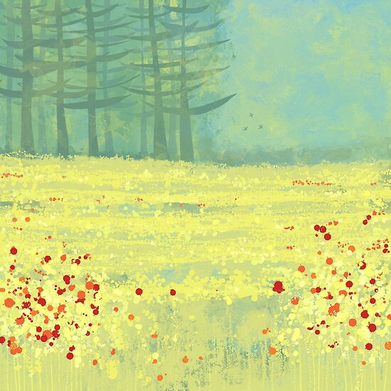 Meadow near Périgueux by Nic Squirrell