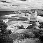 Western witness - Great Ocean Road by Norman Repacholi