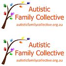 Autistic Family Collective sticker by Leif Prime