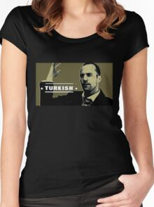 Turkish Women's Fitted Scoop T-Shirt