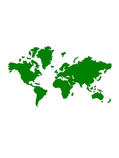 World map by Designzz