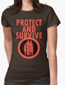 Protect And Survive Boy Womens T-Shirt