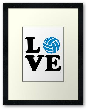 Volleyball love by Designzz