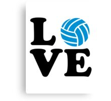 Volleyball love Canvas Print