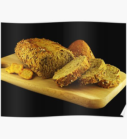 Multicereal Bread Poster