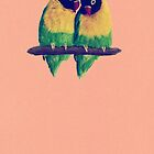 Lovebirds by Hannah Marechal