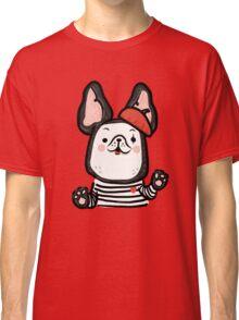 French Bulldog Mime Classic T-Shirt