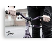 Thump (fixie) Canvas Print