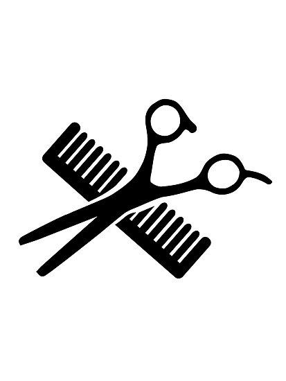 Comb & Scissors by Designzz