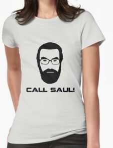 Call Saul! Womens Fitted T-Shirt