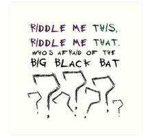 The Riddler Art Print