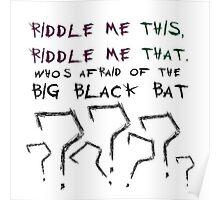 The Riddler Poster