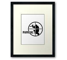 Paintball Framed Print