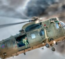Royal Navy Sea King Helicopter Sticker