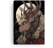The Elk King Canvas Print