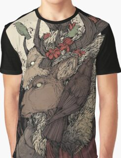 The Elk King Graphic T-Shirt