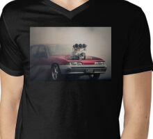 LOOSE Burnout Mens V-Neck T-Shirt