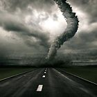 Tornado the anger of Nature by Street-Art