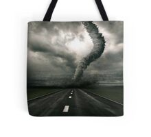 Tornado the anger of Nature Tote Bag