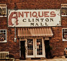 Antiques... Clinton Mall   #1 by © Bob Hall