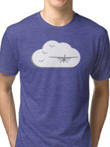 Paper Plane Tri-blend T-Shirt