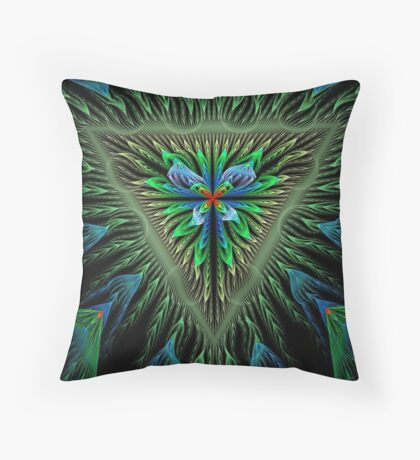 The Shield Of Apophysis Throw Pillow