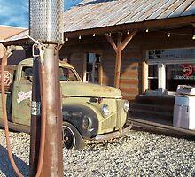 Johnny Rebs - Route 66 by Glenn McCarthy