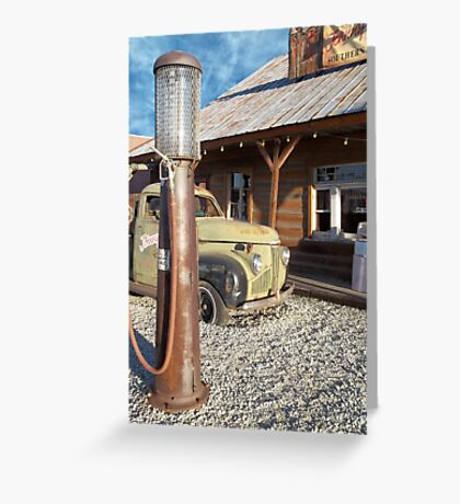 Johnny Rebs - Route 66 Greeting Card