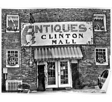 Antiques... Clinton Mall   #2 Poster