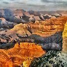 Grand Canyon Sunset at Hopi Point by Mary Warner