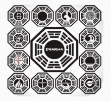 The Complete Dharma Initiative by ludlowghostwalk