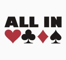 All in poker by Designzz