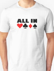 All in poker T-Shirt
