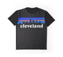Cleveland, skyline silhouette. Graphic T-Shirt