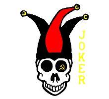 Commie Joker Photographic Print