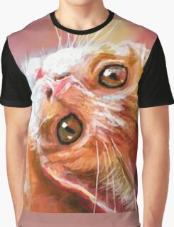 Red Kitty  Graphic T-Shirt