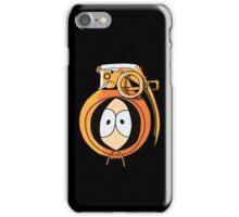 Combustible Orange iPhone Case/Skin