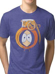 Combustible Orange Tri-blend T-Shirt