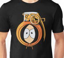 Combustible Orange Unisex T-Shirt