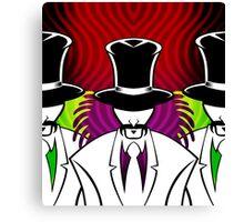 The Suits Canvas Print