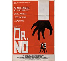 Orange Dr No Photographic Print