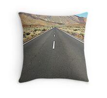 Teide- Canary Island Throw Pillow
