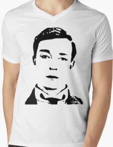 buster is sherlock, jr.  Mens V-Neck T-Shirt