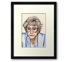 Strong women characters of Coronation Street - Blanche Hunt. 1202 views 13th June 2012 Framed Print