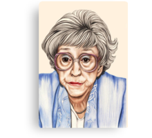 Strong women characters of Coronation Street - Blanche Hunt. 1202 views 13th June 2012 Canvas Print