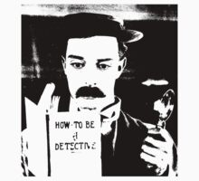 buster. how to be a detective. Kids Tee