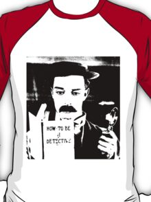 buster. how to be a detective. T-Shirt