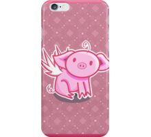 Flying pig iPhone Case/Skin