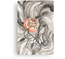 So Like a Rose Canvas Print