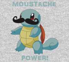 Squirtle-stache. Kids Clothes